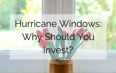 Hurricane Windows: Why Should You Invest?